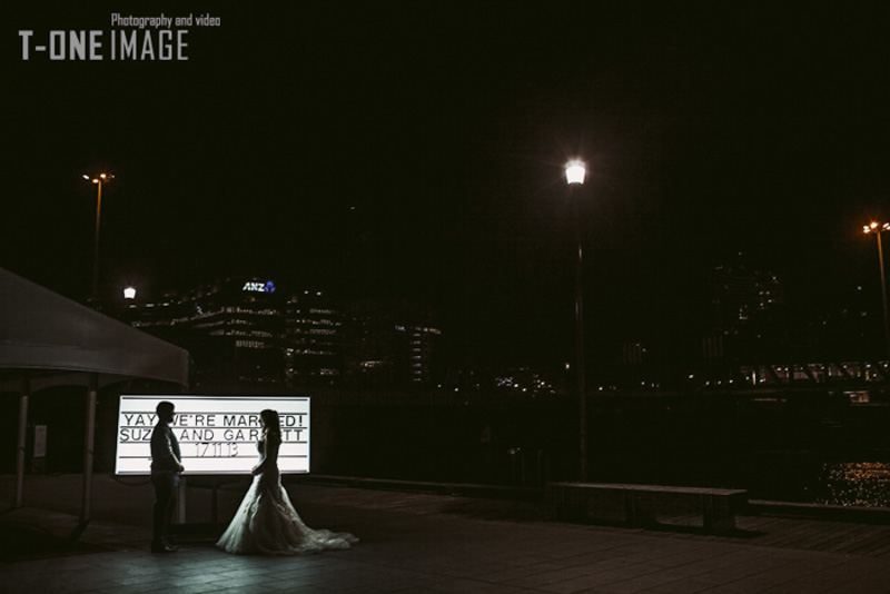 Suzie & Garrett's wedding @ Showtime VIC Melbourne wedding photography t-one image