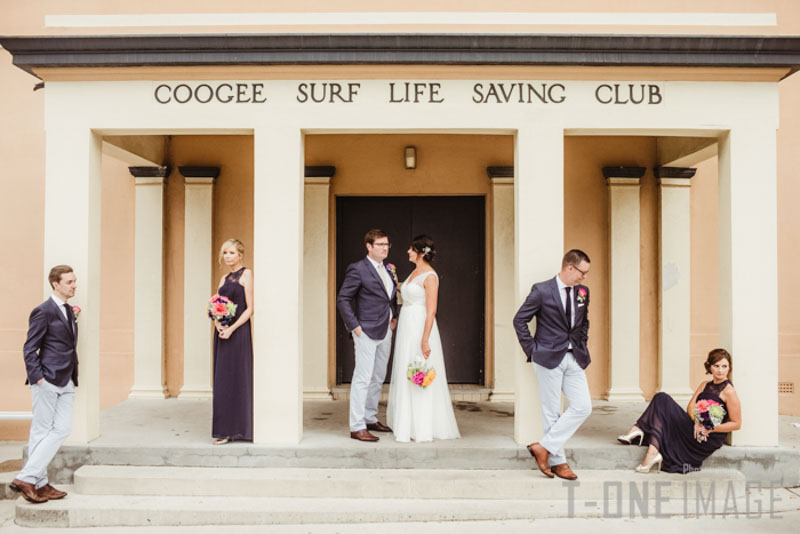 Stacey & Daren's wedding @ Coogee Surf Life Saving Club NSW Sydney wedding photography t-one image