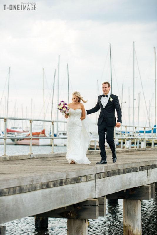 Amelia & Keith's wedding @ Sandringham Yacht Club VIC Melbourne wedding photography t-one image