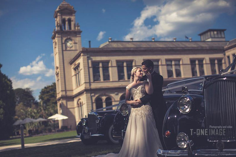 Kristen & Timothy's wedding @ Werribee Mansion VIC Melbourne wedding photography t-one image
