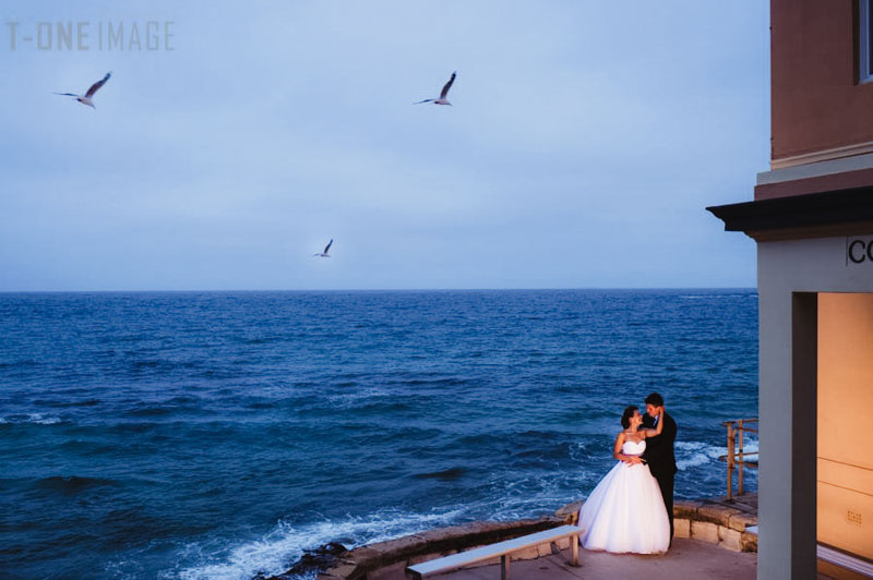 Gemma & Daniel's Wedding @ Coogee Surf Club NSW Sydney wedding photography t-one image