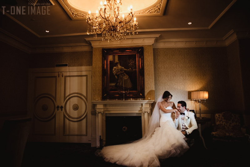 Yalda & Khalid's wedding @ Oatlands House NSW Sydney wedding photography t-one image