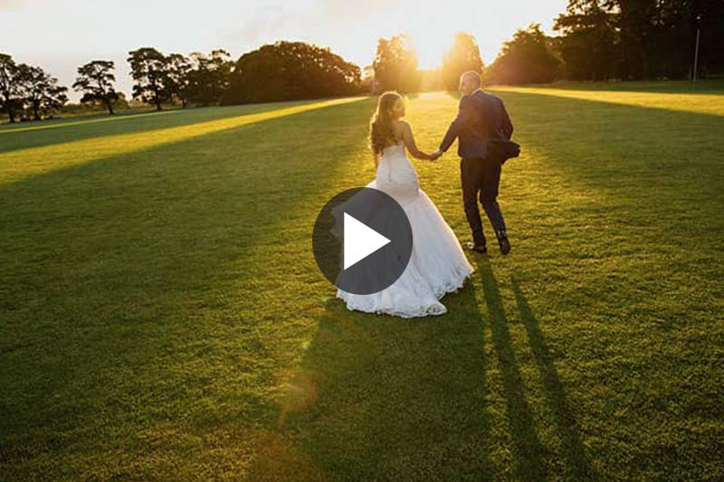 Danielle & Marin's wedding video trailer @ Werribee Mansion VIC Melbourne videography t-one image