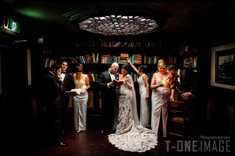 Romy & Rebekah's wedding @ Waterview NSW Sydney wedding photography t-one image
