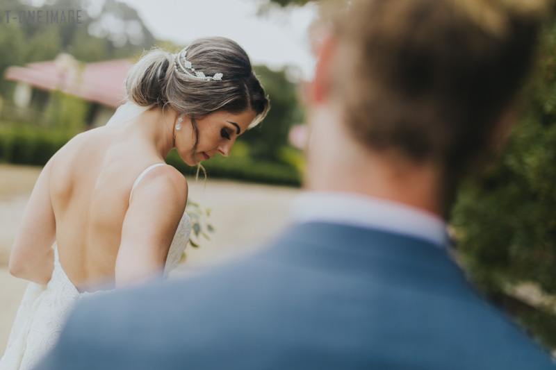 Vanessa & Christopher's wedding @ Cammeray waters VIC melbourne wedding photography t-one image