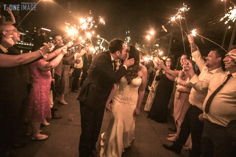 Candeece & James's wedding @ Cargo Hall VIC Melbourne wedding photography t-one image