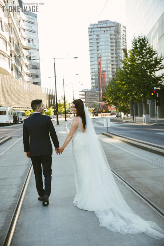 Bridee & George's wedding @ Showtime VIC Melbourne wedding photography t-one image