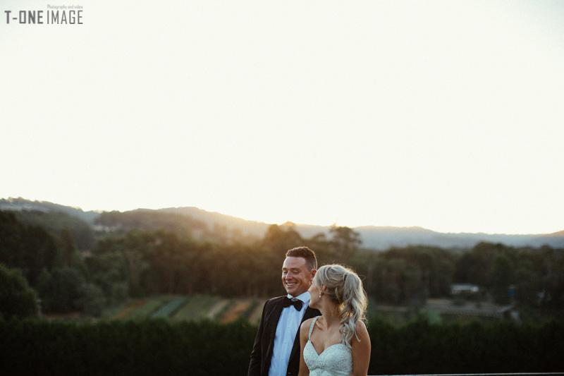 Beck & Ben's wedding @ Dandenong Ranges VIC Melbourne wedding photography t-one image