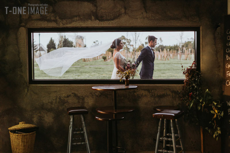 Samantha & Liam's wedding @ Witchmount Estate Winery VIC Melbourne wedding photography t-one image