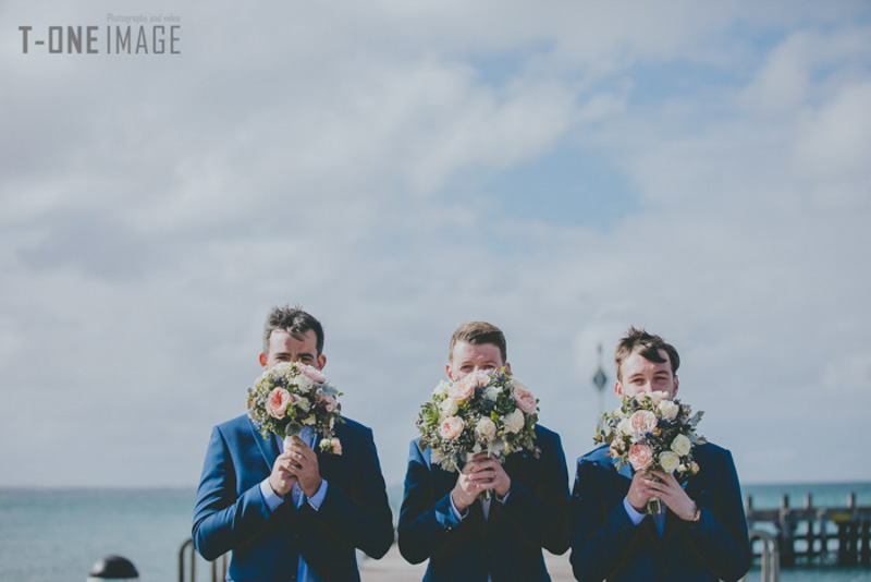 Georgia & Andy's wedding @ Portsea Hotel VIC Melbourne wedding photography t-one image
