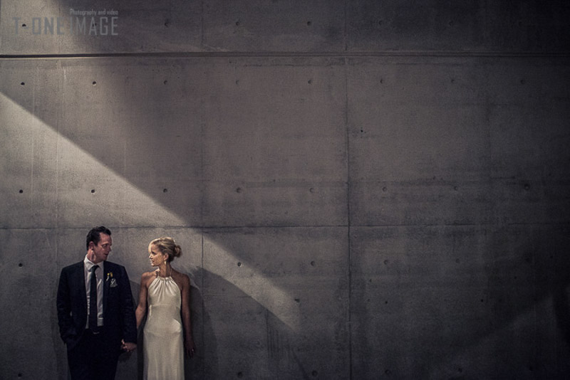 Lauren & Griff's Wedding @ Carriageworks NSW Sydney wedding photography t-one image