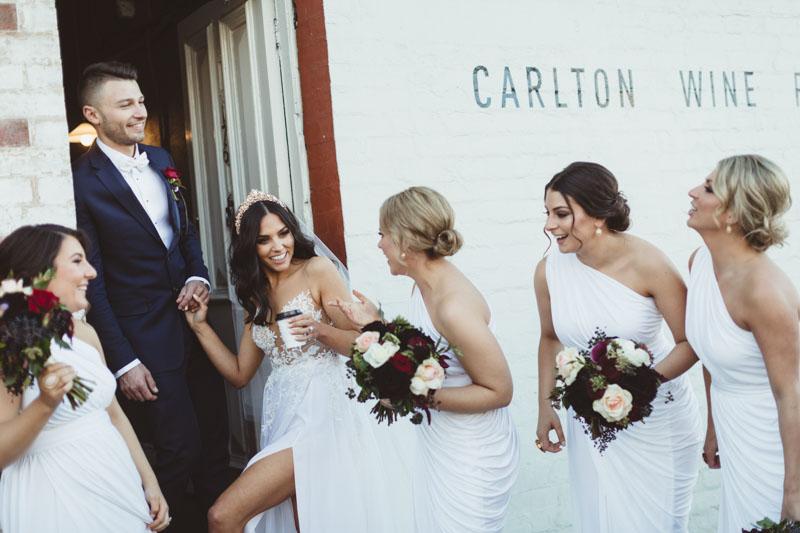 Sopia & Kon's wedding @ Leonda By The Yarra VIC Melbourne wedding photography t-one image