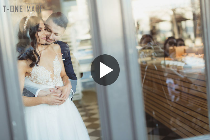 Sophia & Kon's wedding video trailer @ Leonda By the Yarra VIC Melbourne wedding videography t-one image
