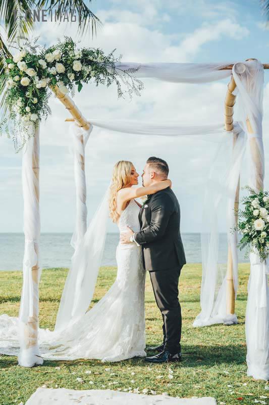 Anthony & Angela's wedding @ Port Douglas wedding photography t-one image