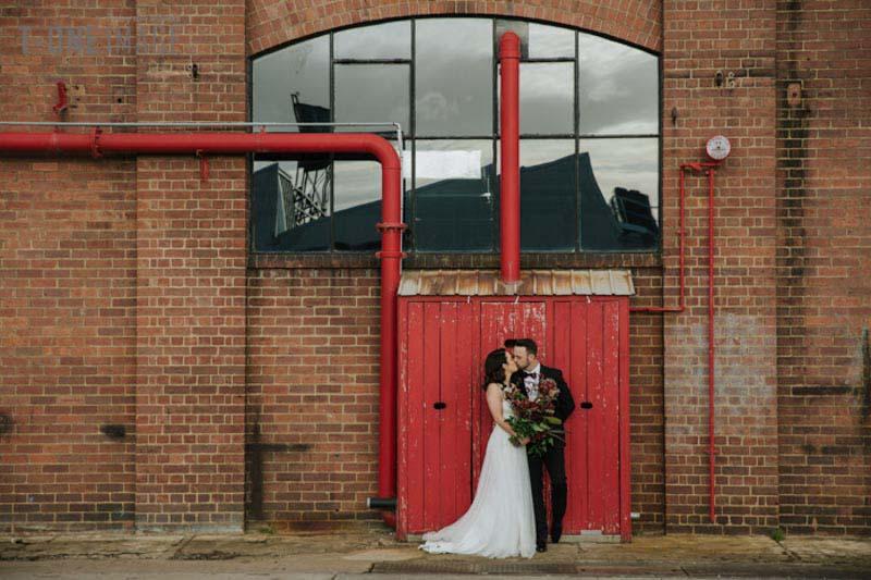 Jamie & Kurt's wedding @ The Federal VIC Melbourne wedding photography t-one image