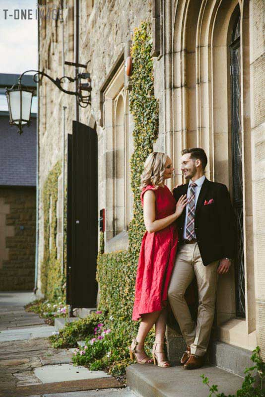 Ariana & Michael's engagement @ Melbourne VIC Melbourne engagement photography t-one image