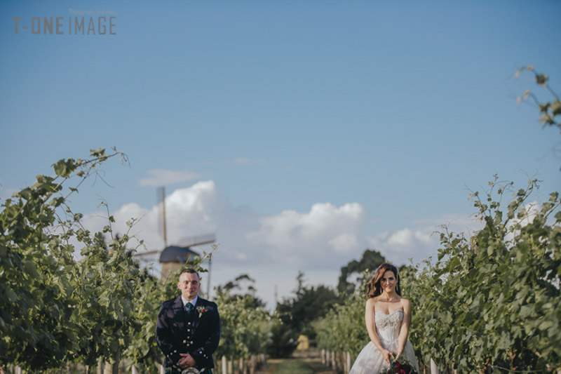 Tenaya & Adam's wedding @ Witchmount Estate Winery VIC Melbourne wedding photography t-one image