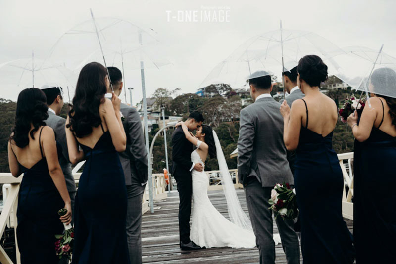 Kimberley & Erfaun's Wedding @ venue Doltone House Darling Island NSW Sydney wedding photography t-one image