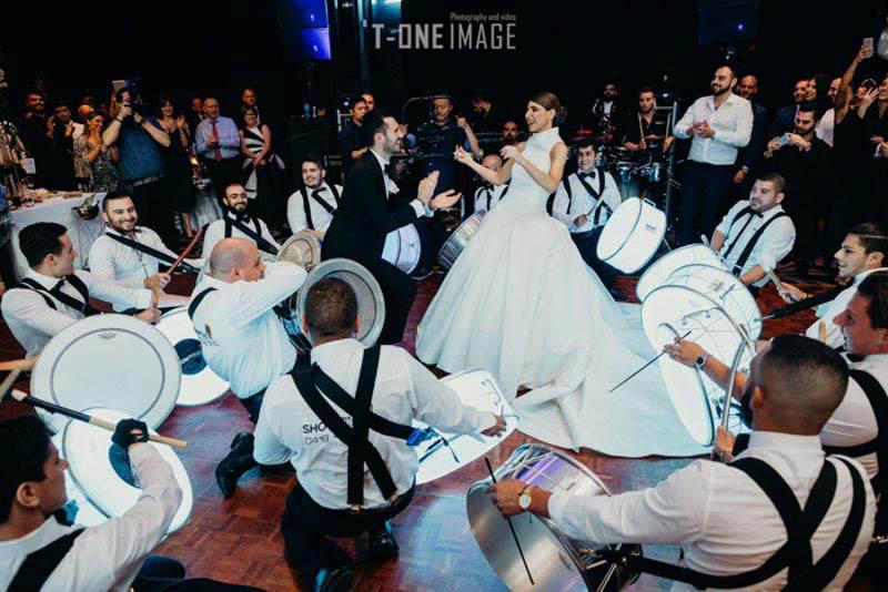 Melissa & Elias's Wedding @ venue Doltone House Jones Bay Wharf NSW sydney wedding photography t-one image