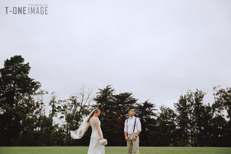 Rebecca & Clement's wedding @ Nerrena VIC Melbourne wedding photography t-one image