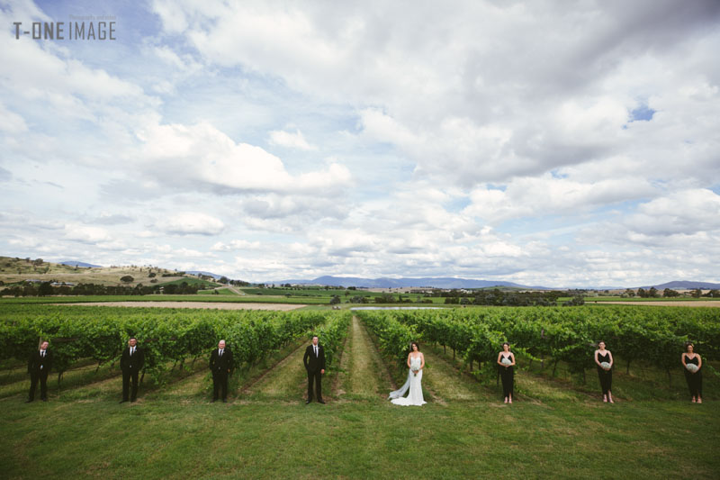 Sally & Rob's wedding @ Acacia Ridge Vineyard Yarra Valley VIC Melbourne Wedding Photography T-ONE image