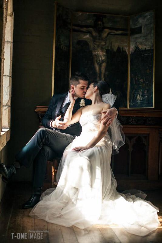 Alyce & Matt's Wedding @ Montsalvat & Tatra VIC Melbourne wedding photography t-one image
