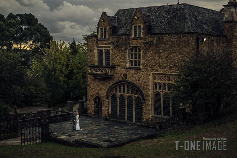 Nicole & Matt's wedding @ Montsalvat VIC Melbourne wedding photography t-one image