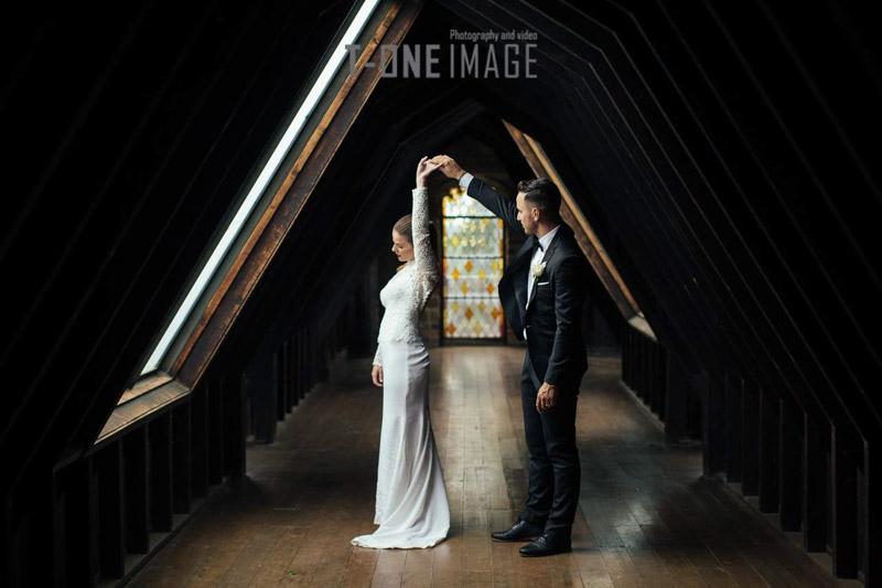 Nicole & Matt's wedding @ Montsalvat VIC Melbourne wedding photography t-one image