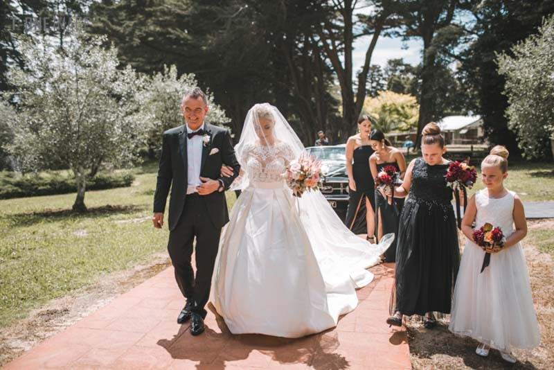 Andrea & Matthew's wedding @ The epicurean red hill VIC Melbourne wedding photography t-one image