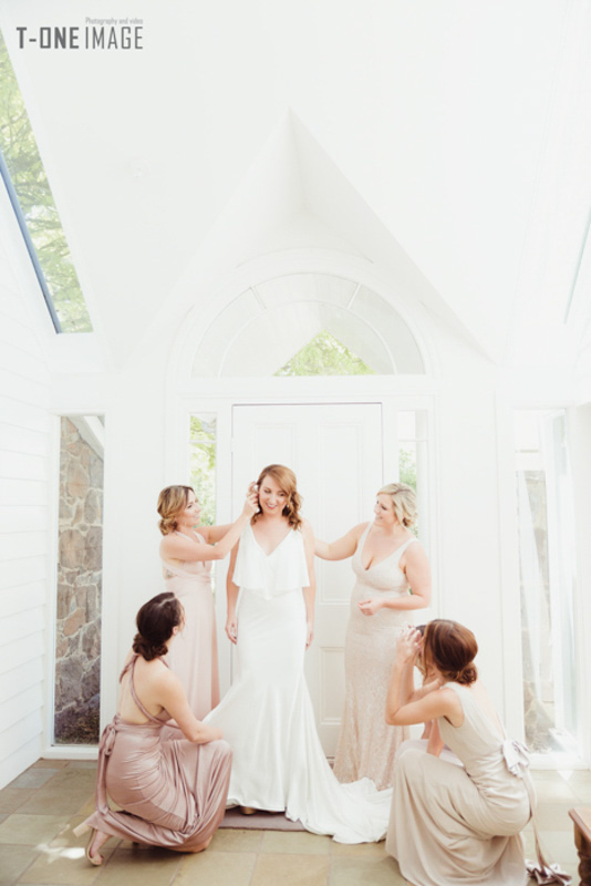 Julie & Steven's wedding @ Mount Macedon Winery VIC Melbourne wedding photography t-one image