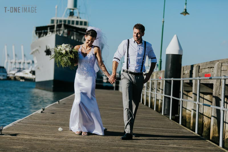 Amy & Robbie's wedding  @ Shellys Beach Pavilion VIC Melbourne wedding photography t-one image