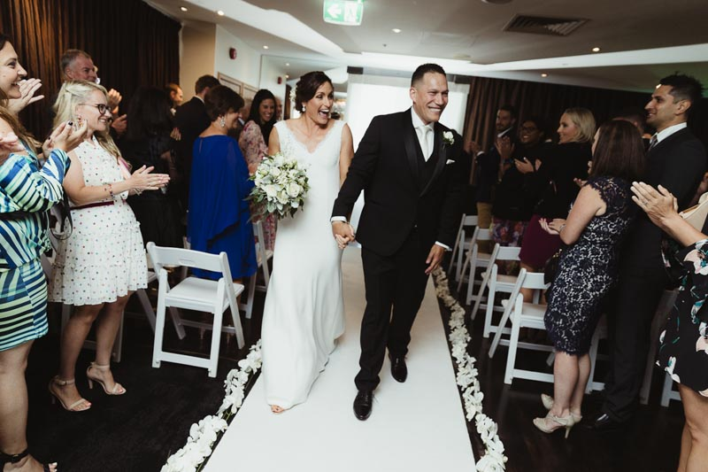 Chelsea & Kennedy's wedding @ Brighton Savoy VIC melbourne wedding photography t-one image