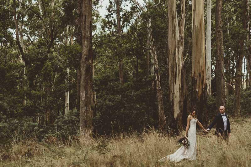 Emily & Oliver's wedding @ Trentham VIC Melbourne wedding photography