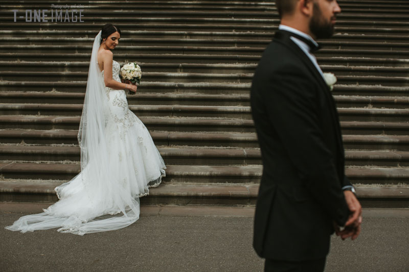 Antony & Lucia's wedding @ San Remo Ballroom VIC Melbourne wedding photography t-one image