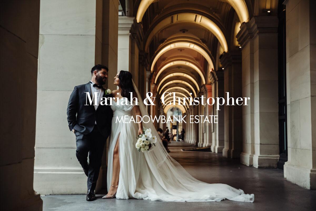02987 Mariah & Christopher venue-Meadowbank Estate